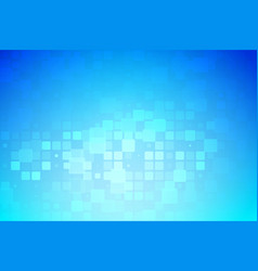 Blue and light turquoise glowing various tiles vector