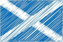 Scottish flag vector
