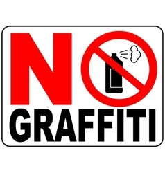 No aerosol spray sign No alcohol sign vector image vector image