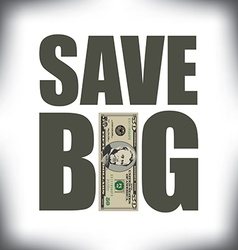Save big fifty vector
