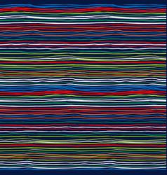 Multicolor striped pattern vector