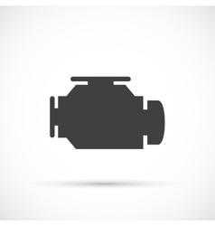 Check engine icon vector