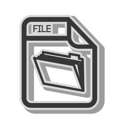 Format file binder vector