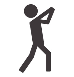 person pictogram icon vector image