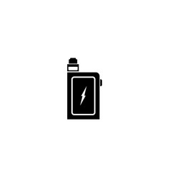 vape icon vector image vector image