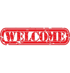 Welcome Stamp vector image