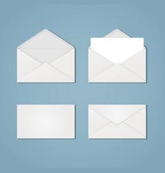 Set of envelope forms vector