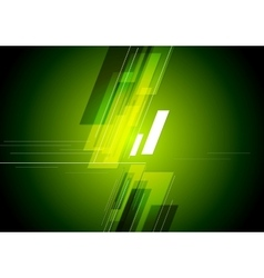 Tech corporate green background vector