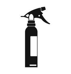 Sprayer black simple icon vector