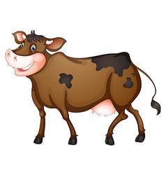 Cow vector image