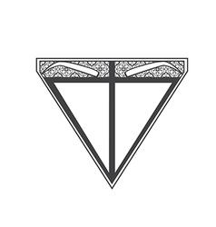 Eyebrow microblading logo vector