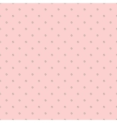 Little butterflies on pale pink background vector