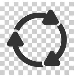 Rotate cw icon vector