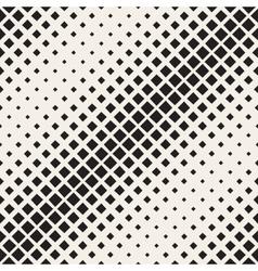 Seamless Rhombus Diagonal Halftone vector image vector image