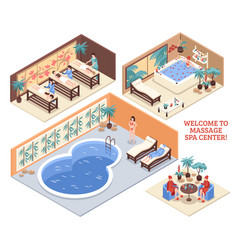 Set of isometric spa compositions vector