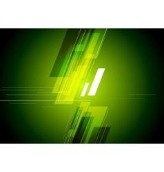 Tech corporate green background vector