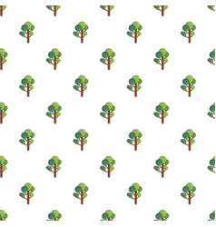 Tree pattern seamless vector