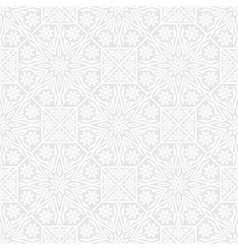 Seamless background with traditional ornament vector