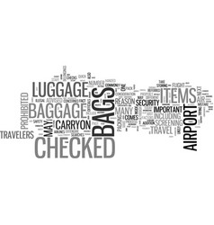 air travel what you need to know about your vector image