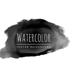 Black paint grunge vector