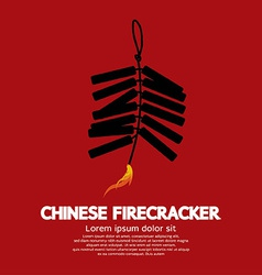 Chinese firecracker vector