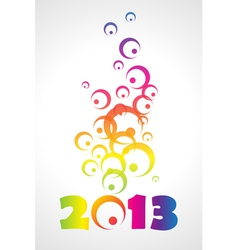 2013 background vector image