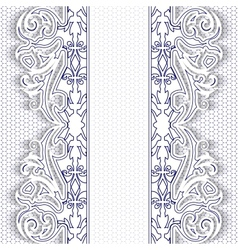 lace backdrop vector image