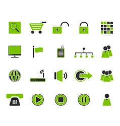 Web icons vector