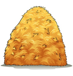 An image showing a haystack vector