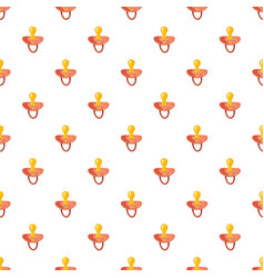 Baby nipple pattern vector