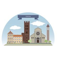 Verona vector image