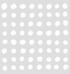 White squares on a grey background vector