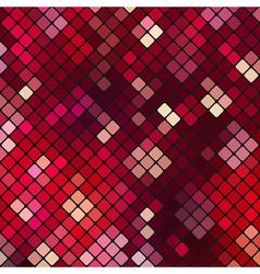 Abstract vibrant mosaic vector image