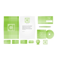Corporate Identity Templates in vector image