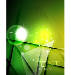 Futuristic abstract blurred flares and colors vector