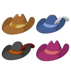 Ancient hats vector