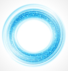 Abstract smooth light circle background vector