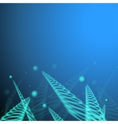 Blue jumping balls vector image vector image