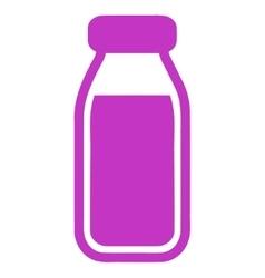 Full Bottle Icon vector image