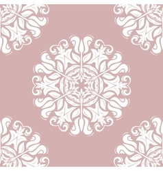 Seamless Baroque Pattern vector image
