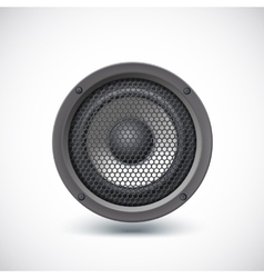 Speaker isolated vector image vector image