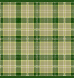 Green tablecloth tartan plaid seamless pattern vector