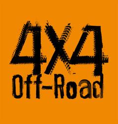Off road 4x4-05 vector