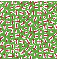 Seamless bright fun christmas winter pattern with vector