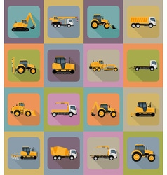 Transport flat icons 40 vector