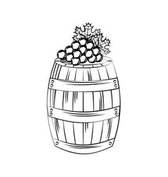 Wine house design vector