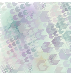Neutral geometric pattern of hexagon vector