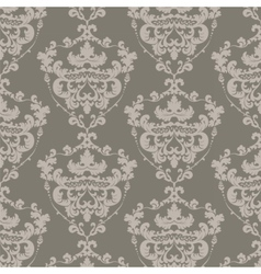 Vintage damask elegant royal ornament pattern vector