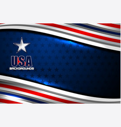 Usa backgrounds template vector