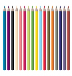 colorpencils vector image